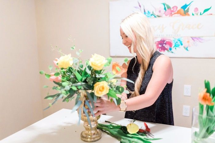 Alexis Grace Florals Tucson Arizona Wedding Florist Laughing