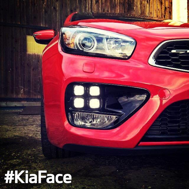 Red and raring to go. #KiaFace #ceedGT #Kia