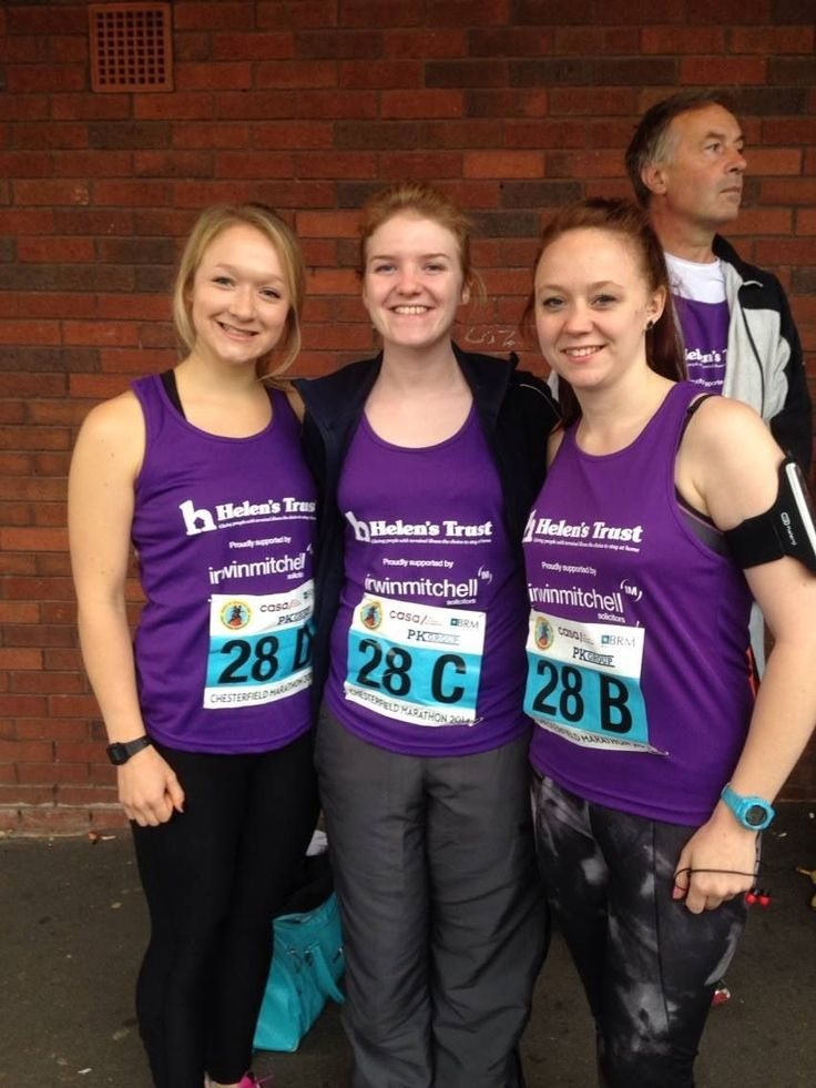 The MK team- who came a respectable second in the HT relay team rankings! #second #relaymarathon #chesterfieldandderbyshirehalfmarathon