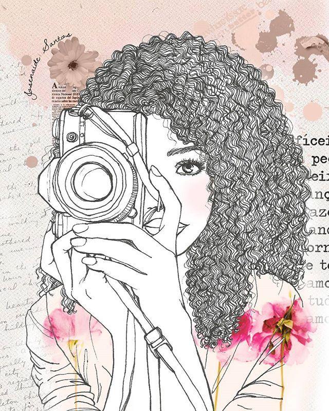 Modest girl who loves photography... Baseado na arte de @zukellogs…