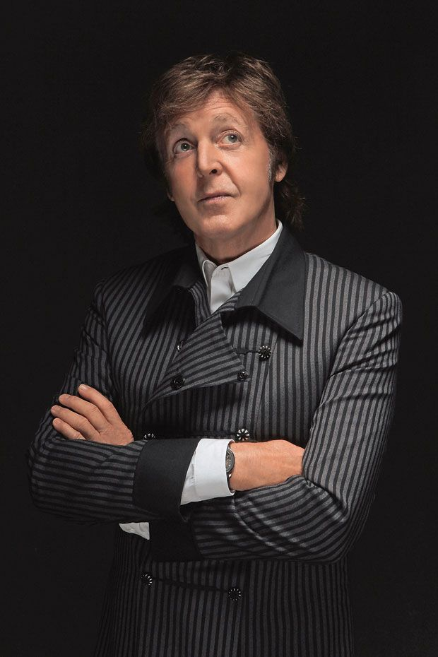 Paul McCartney - *I*m  in love with you and i feel fine**...  nice stripes paul...