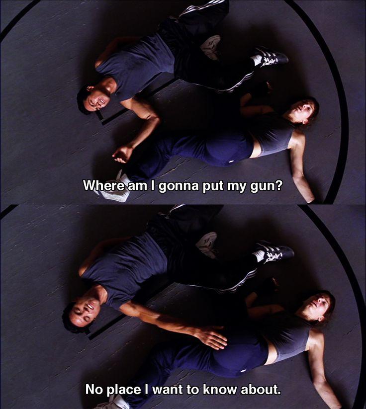 Where am I gonna put my gun? ~ Miss Congeniality (2000) ~ Movie Quotes #amusementphile