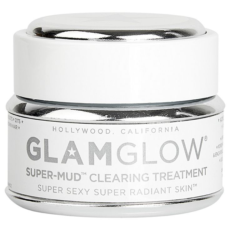 GlamGlow - Super Mud. My new favorite face mask. My skin and pores have never looked better (order through Amazon for best prices)