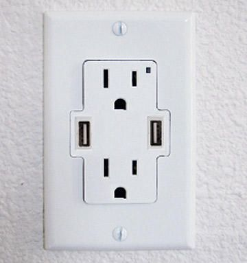 Add USB Ports To Your Wall Outlets   OhGizmo!