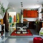 Эклектичный стиль основывается на комбинации элементов разных эпох, стилей, таким образом, создавая очень выиграшный и оригинальный интерьер.