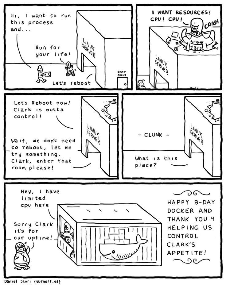 SQL Server on Linux Part 2 geek comic