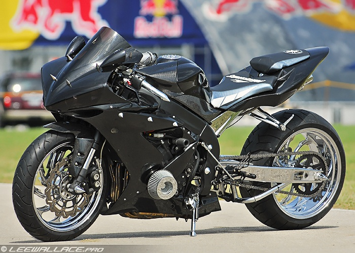The Yamaha YZF-R1, or R1, is an open class sport bike, or superbike, motorcycle manufactured by Yamaha Motor Company since