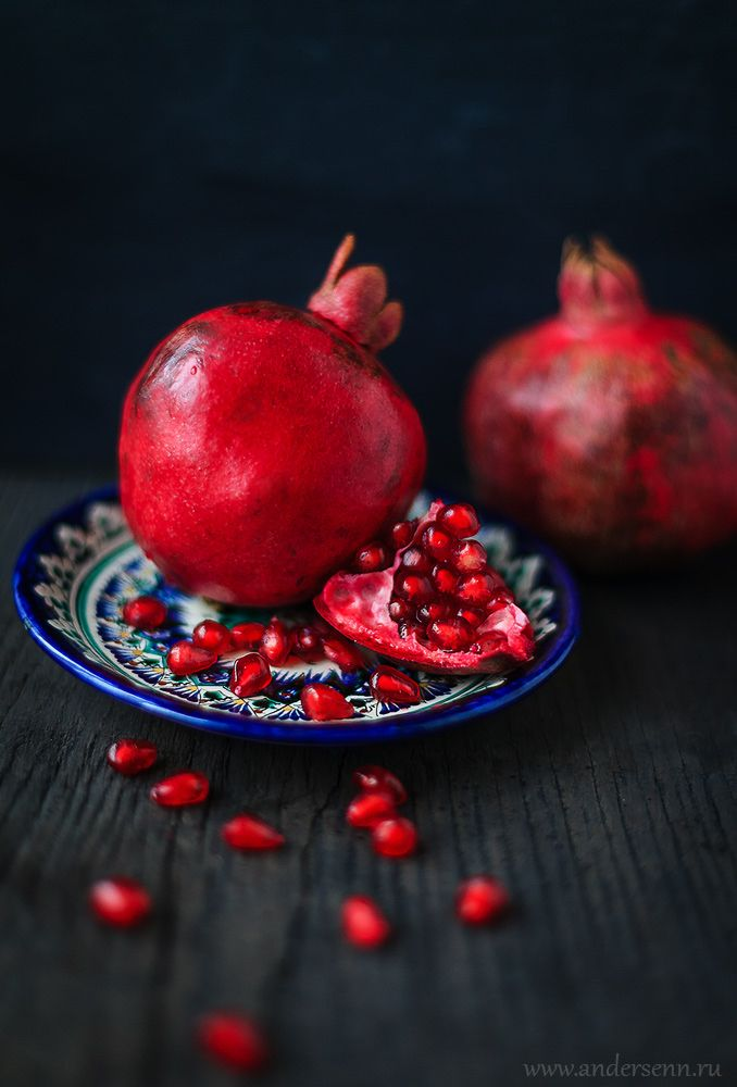 Pomegranate, гранат, натюрморт, еда, фрукт, still, fruit