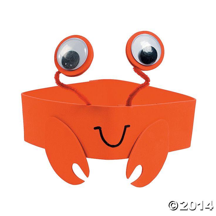 Crab+Headband+Craft+Kit+-+OrientalTrading.com