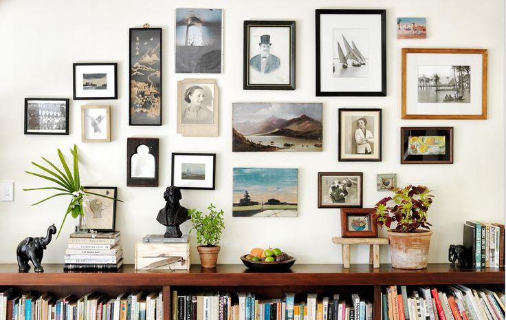 Stal foto's, schilderijtjes en leuke objecten uit in je eigen 'galerij'