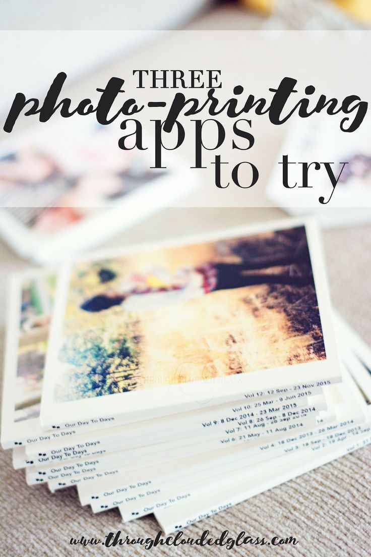 3 Photo Printing Apps To Try | Through Clouded Glass