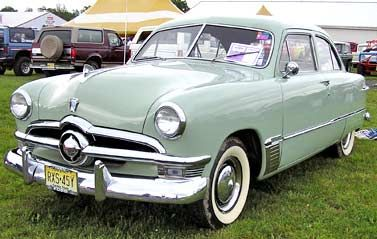 1950 Ford    This was the first car I remember my family having.