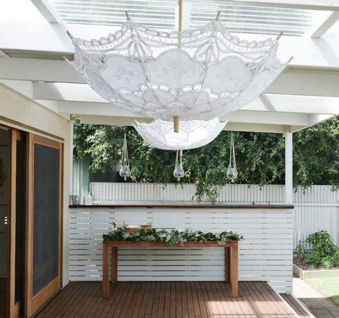 Green & white baby shower — Gorjo Designs