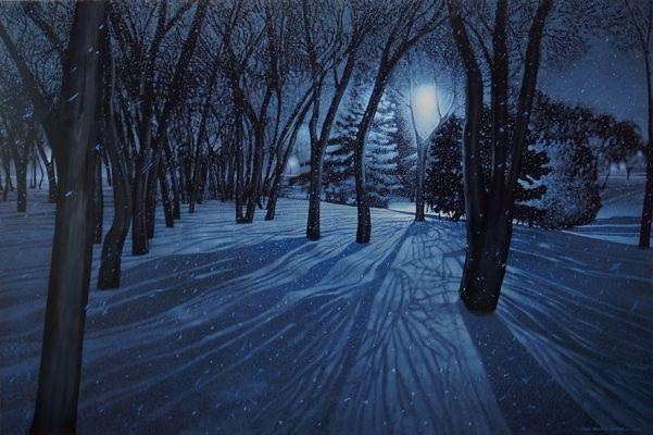 Night Walk by Sean William Randall