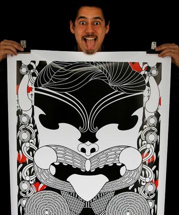 Wellington artist Johnson Witehira