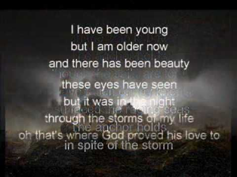 I would be so lost without my Anchor.....thank you Jesus for having mercy on my soul and saving me!!   The Anchor Holds with lyrics Ray Boltz