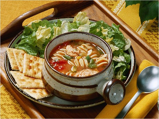 Start meal with soup or salad.  Good for kids too.  will eat 20% less....