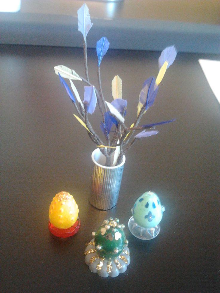 Påskdekorationer / Easter decorations