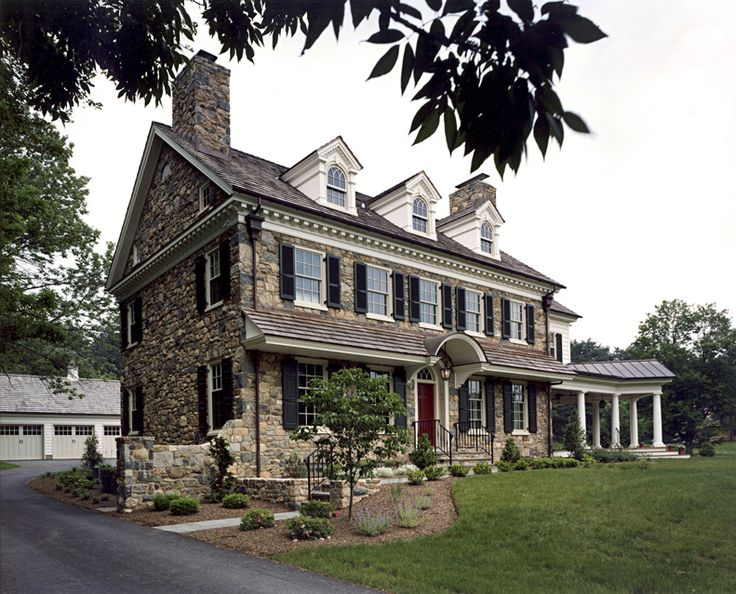248 best new residences images on pinterest archer for Traditional american architecture