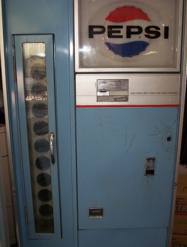 pepsi bottle machine