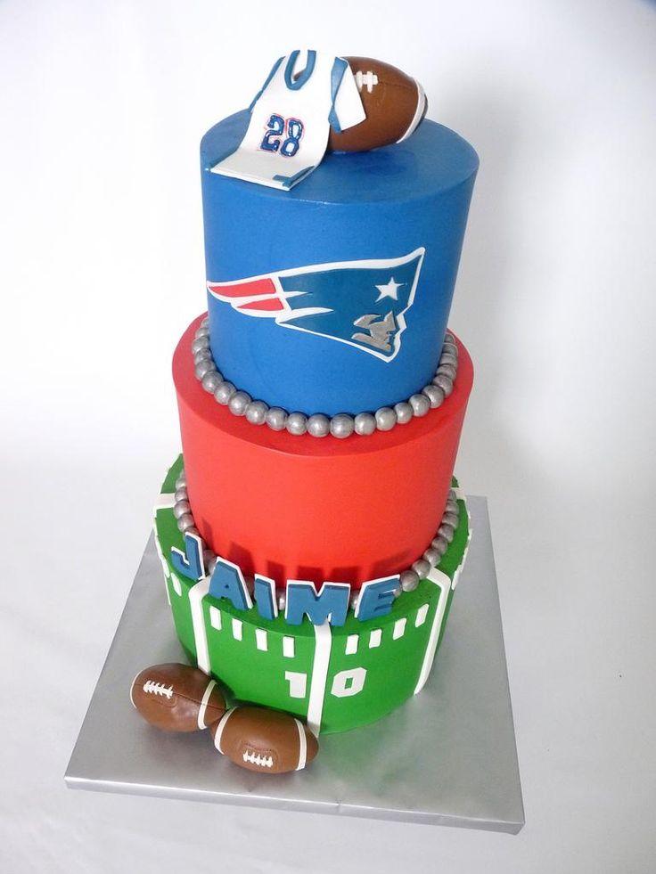 patriots football birthday cakes