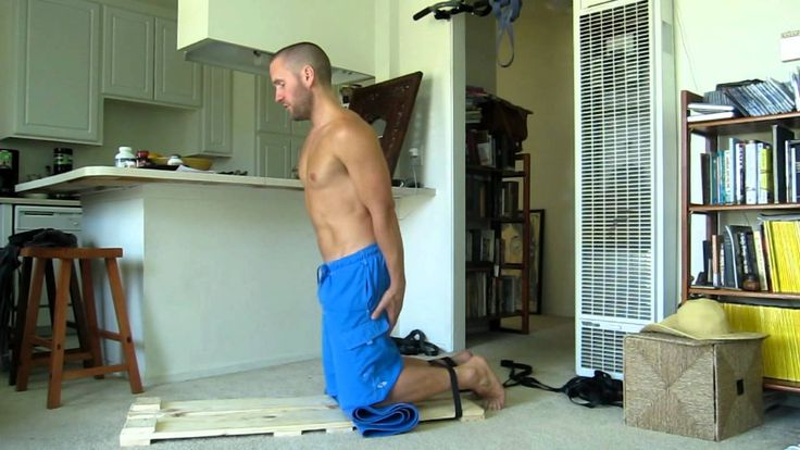I am fascinated with eccentric hamstring exercises (downhill running)