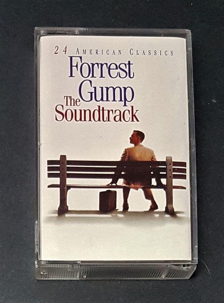 Forrest Gump - The Soundtrack (1994) Cassette Tape - 24 American Classics! | eBay