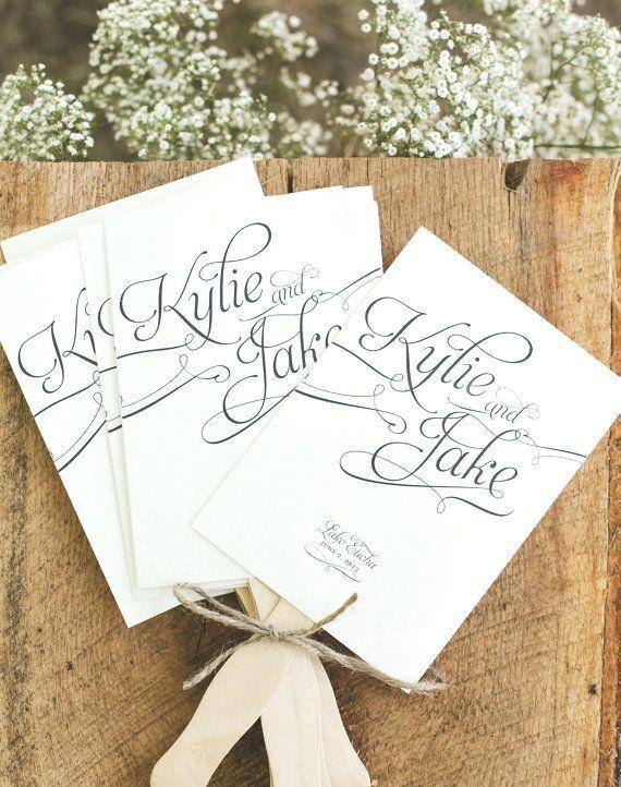 15 Lovely Free Printable Wedding Program Templates   visit www.freetemplateideas.com