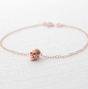 Rose Gold Skull