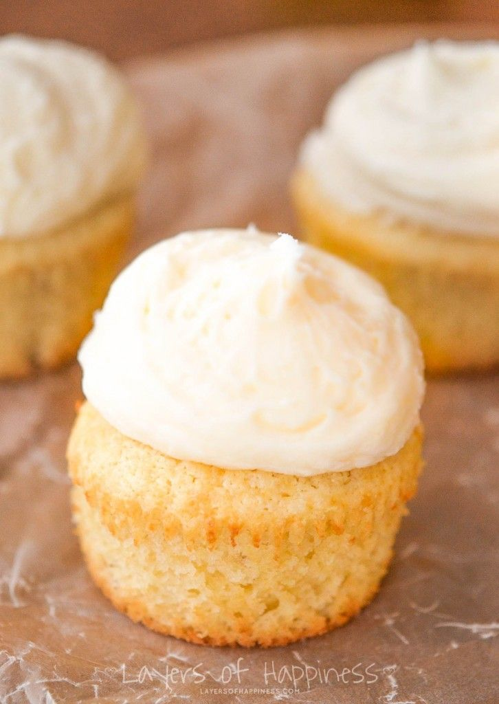 My favorite cupcake recipe ever. Moist and fluffy, these homemade vanilla cupcakes are better than the real thing!