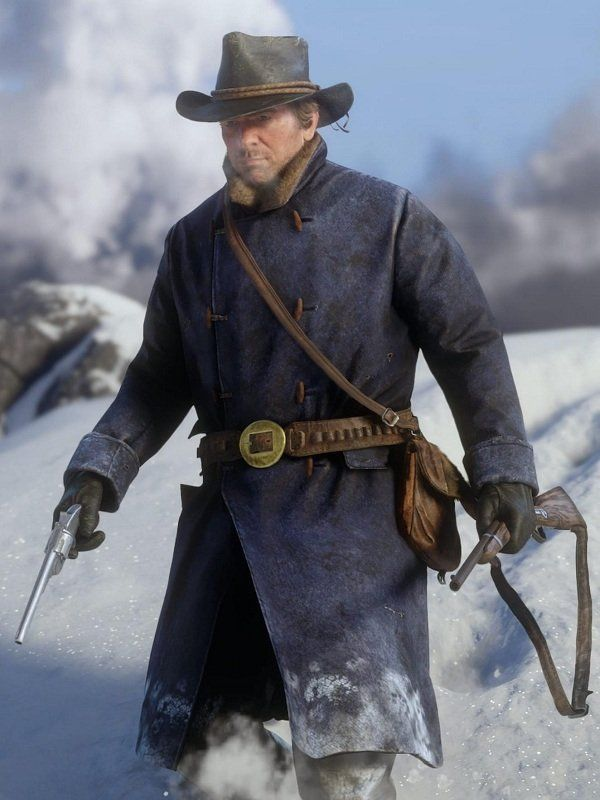 Red Dead Redemption 2 Arthur Morgan Blue Stylish Cosplay Coat Top Celebs Jackets Red Dead Redemption Red Dead Redemption Ii Red Dead Redemption Art