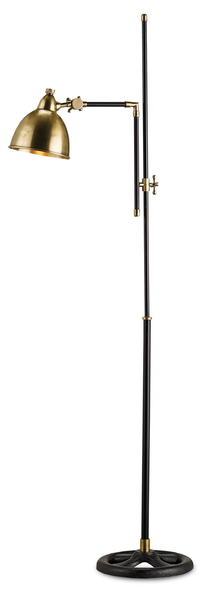 Currey and Company 8051 Drayton Traditional Floor Lamp CNC-8051