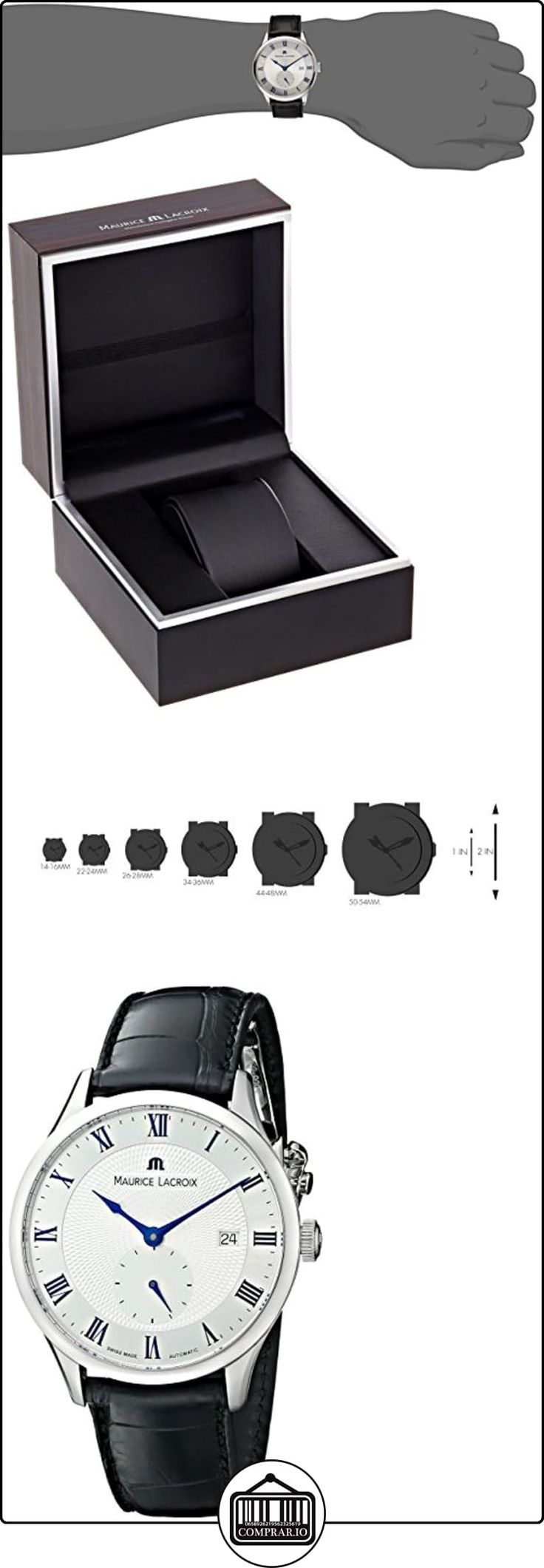 Maurice Lacroix Hombre mp6907-ss001-110tradición analógica pantalla Swiss-Reloj automático negro  ✿ Relojes para hombre - (Lujo) ✿