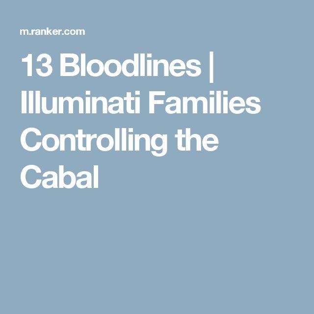 top 13 illuminati bloodlines pdf