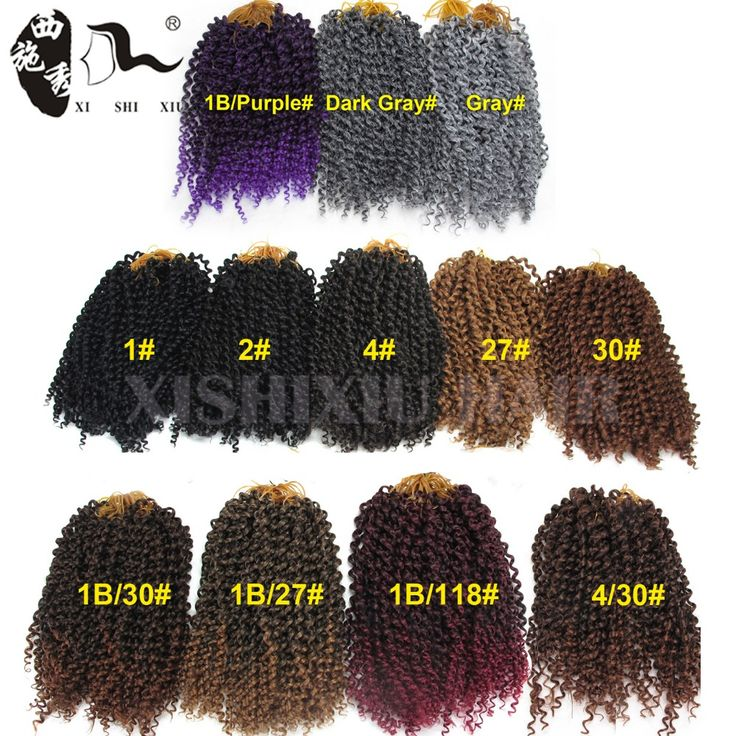 """Cheap braiding hair, Buy Quality freetress crochet directly from China crochet braid hair Suppliers: 2016 New Arrival Water Wave Synthetic Freetress Crochet Braiding Hair 10"""" Curly Hair Weaves Freetress Curly Crochet Hair"""