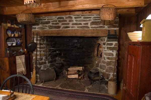 walk in fireplace photos | Attention to Detail ...