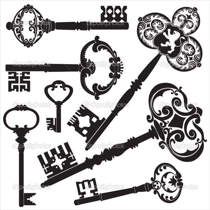 Antique Keys... for the honesty tattoo