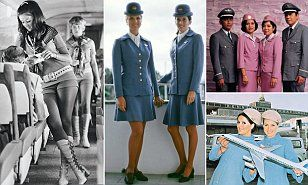 When commercial flying took off in the 1950s, the role of the air hostess was highly glamourised. The book, Style at 30,000 feet , gives us a peek back at the history of life in the skies.