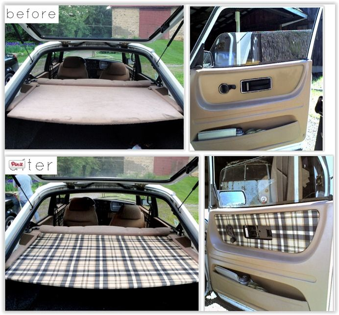 103 best vintage plaid and hounds tooth auto upholstery images on pinterest. Black Bedroom Furniture Sets. Home Design Ideas