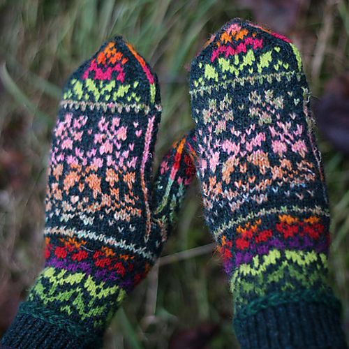 Ravelry: Butterflies Meadow pattern by Natalia Moreva