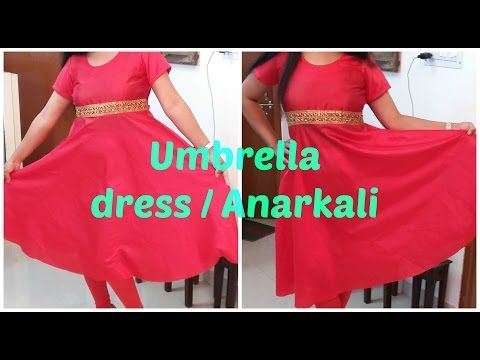 Umbrella Dress / Anarkali | DIY - YouTube