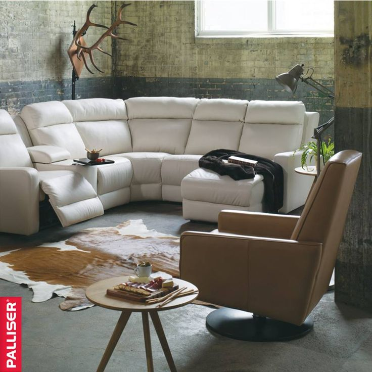 Forest Hill reclining sectional from Palliser Furniture.