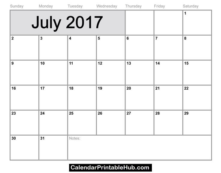 July 2017 Calendar with Holidays    http://calendarprintablehub.com/july-2017-calendar-printable-template-pdf-holidays.html