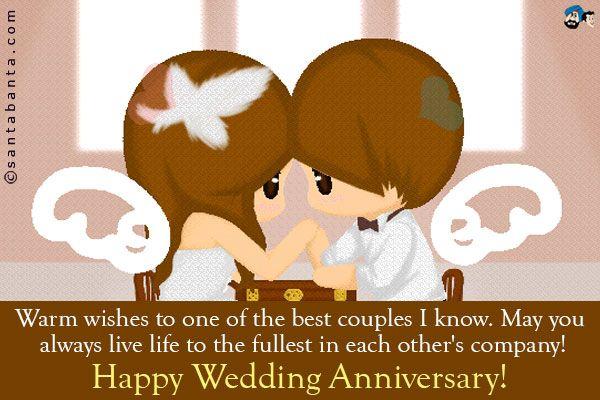 Happy Wedding Anniversary Quote