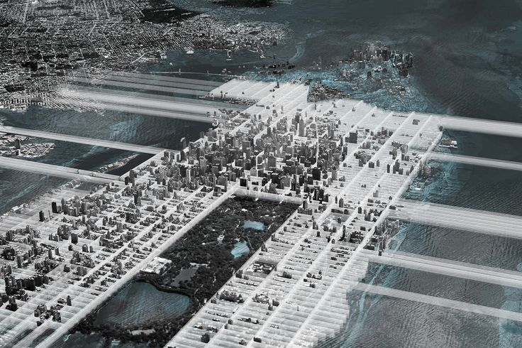 Manhattan without Ground - CLAS | Co-Lateral Architecture Studio