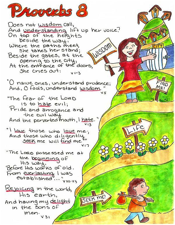 Doodle Through The Bible: Proverbs 8