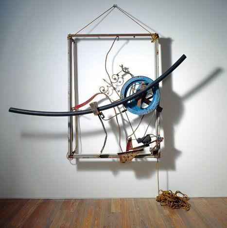 Jean Tinguely, Incitation à la Création, 1981    http://vickydavid.com/artist-jean-tinguely.htm