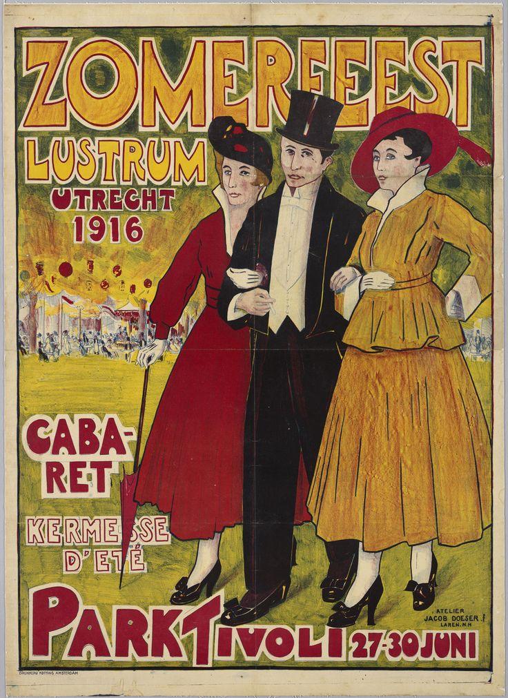 Zomerfeest Lustrum Utrecht 1916