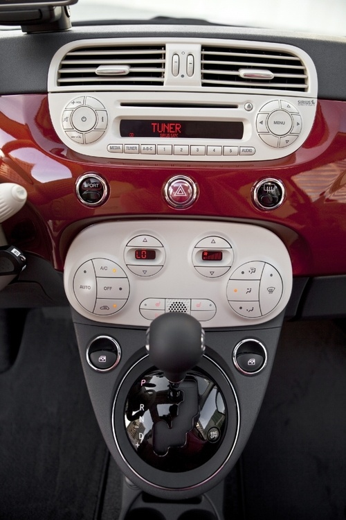 Love the Fiat interior