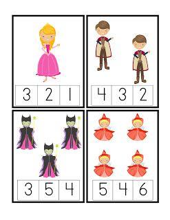 Preschool Printables: Sleeping Beauty